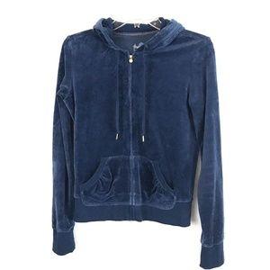 Express Jacket Blue Velvet Size Small